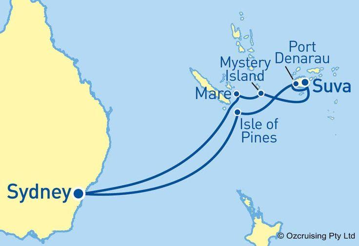 Carnival Legend South Pacific and Fiji Cruise - Ozcruising