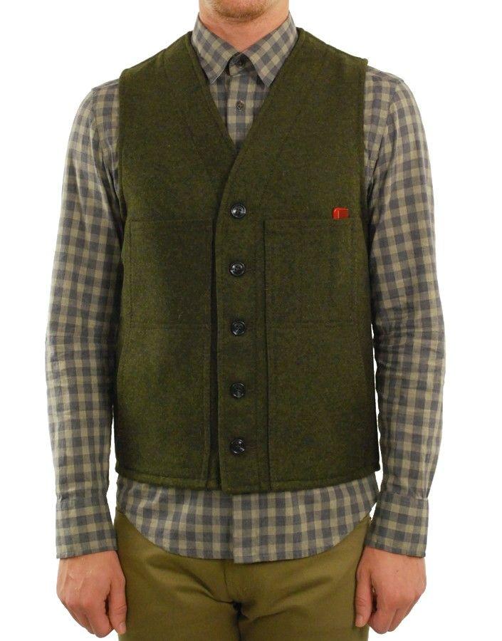 Filson wool mackinaw vest
