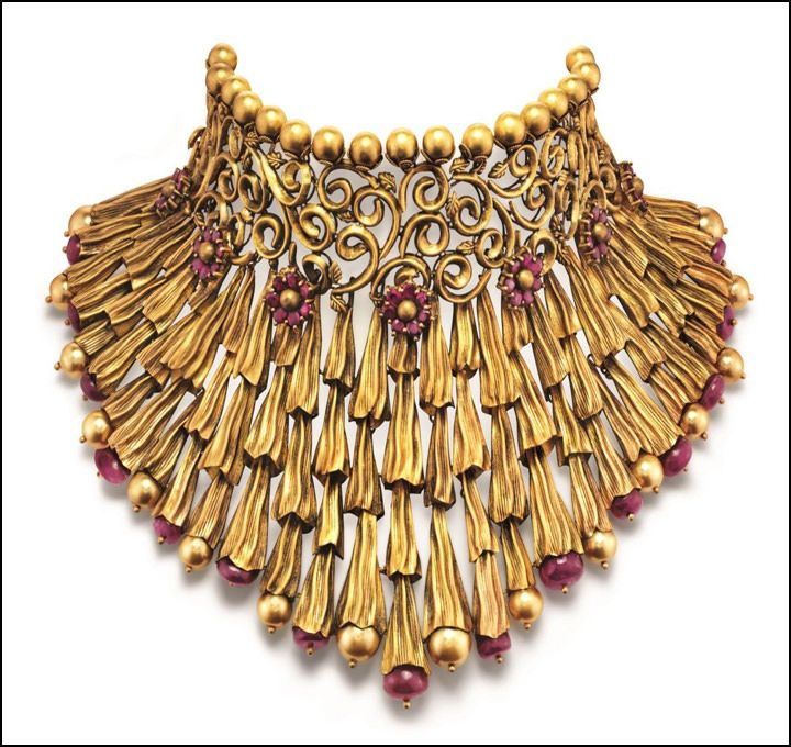 Indian Bridal Necklace Set by Azva - Talwar Jewellers