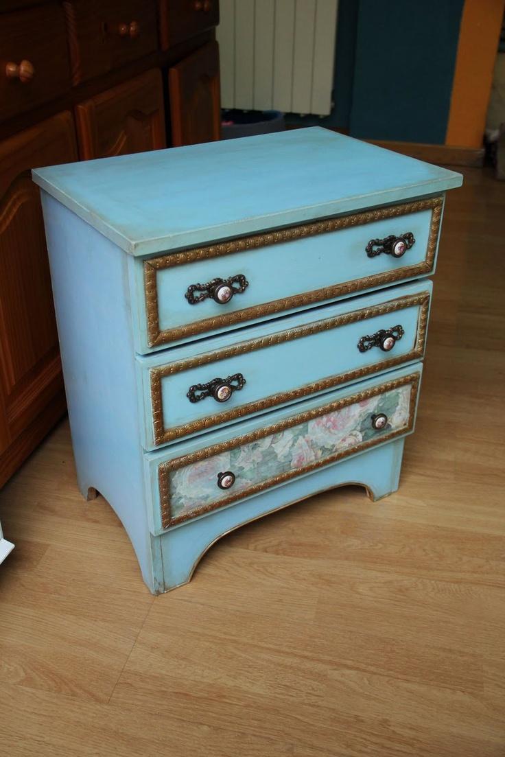 Restaurar un mueble encontrado en la basura! By Lo que nos queda del día