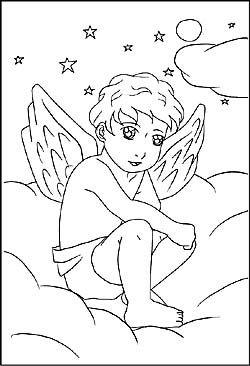 Malvorlagen Engel