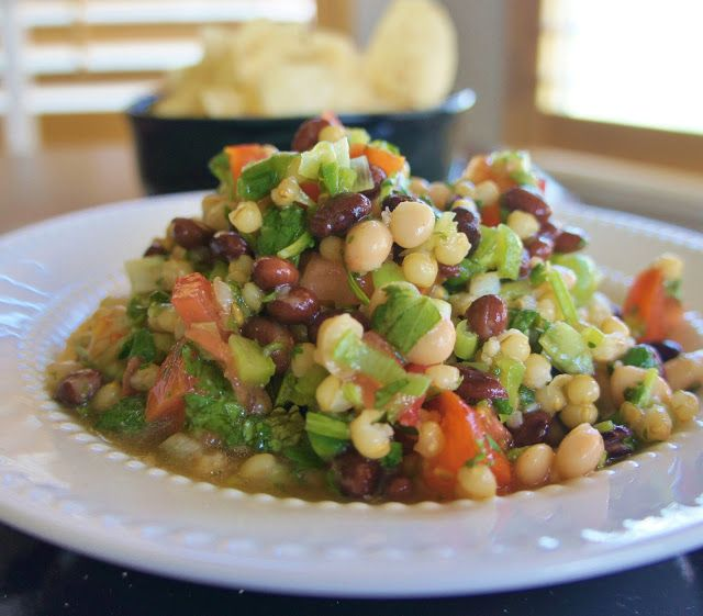 365 Days of Slow Cooking: Slow Cooker Texas Caviar Recipe (with dried beans and wheat berries)