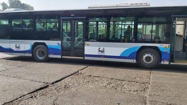وزارة الإنتاج الحربي تكشف عن مميزات الأتوبيس الكهربائي الجديد فيديو Bus