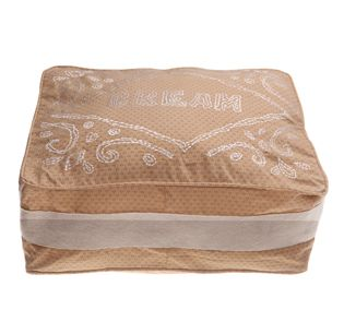 Cream Biscuit cushion cover with inner