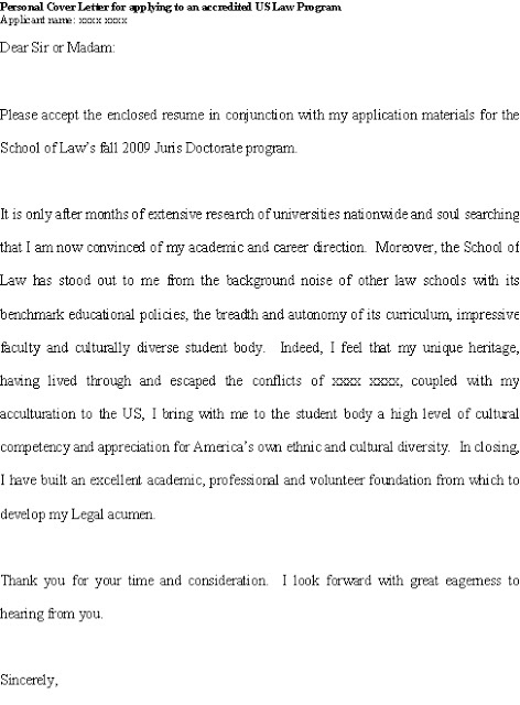 good cover letter for jd juris doctorate applicant with diverse background - What A Good Cover Letter Looks Like