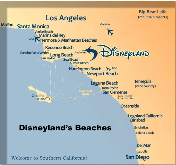 map of anaheim cal hotels | Alphabetical Beaches List Contact Us Site Map Beach Site Map Dining ...