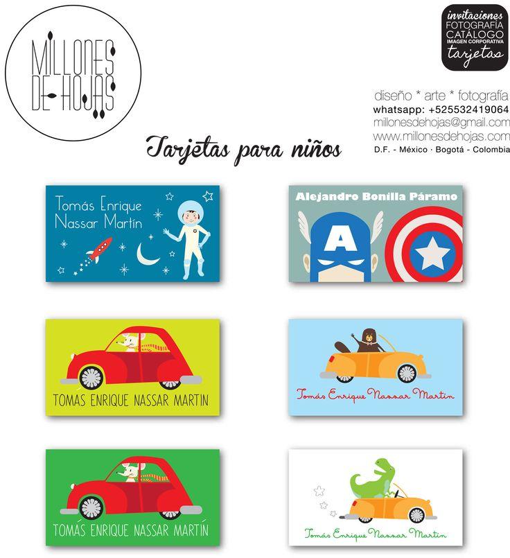 Tarjetas de presentación para los mas chiquitos. Para marcar sus objetos personales, regalitos y cuadernos. http://millonesdehojas.com/ Móvil +525532419064 #tarjetasdepresentacion #tarjeteria #businesscards #children #infantil #designforbabies #diseñoparabebes #arte #art #Graphicdesign #diseñografico #animals #cards #bunny #magico #magos