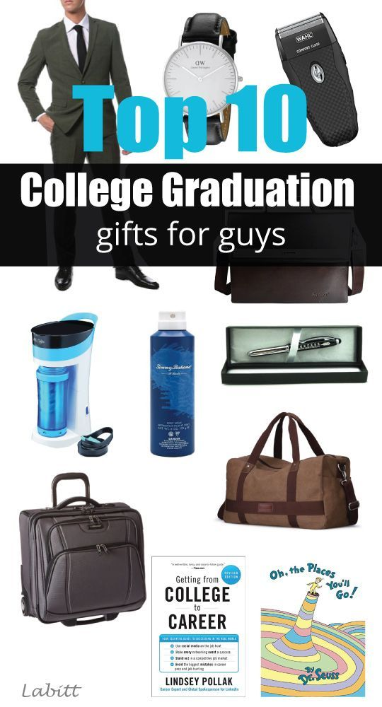 College Graduation Gifts For Guys | graduation gifts for son boyfriend brother  sc 1 st  Pinterest & Top 10 College Graduation Gift Ideas For Guys [Updated: 2018 ...