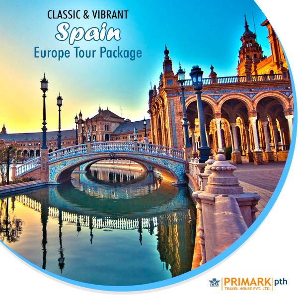 CLASSIC & VIBRANT SPAIN Europe Tour Package. We cover Spain's vibrant culture and glorious history in this Europe Tour Package. Take in the amazing cities of Madrid–Granada–Malaga-Marbella-Ronda–Seville-Barcelona.