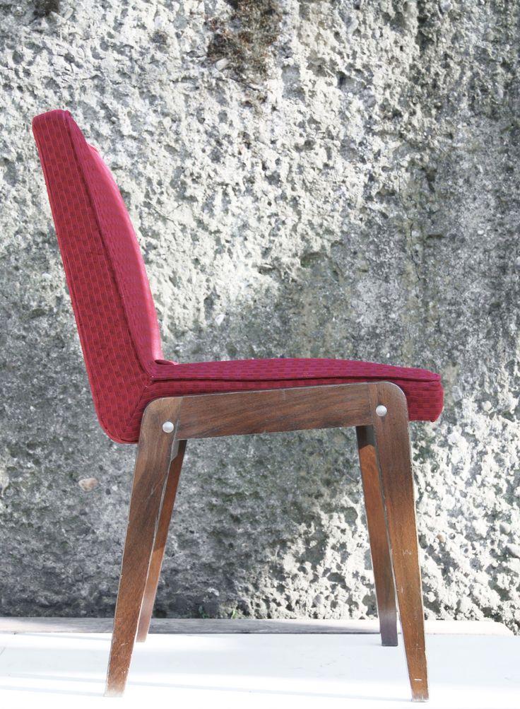 Krzesło ''Aga'', 1972 rok. Obornickie Fabryki Mebli Przedsiębiorstwo Państwowe w Obornikach Wlkp. Zakład w Chodzieży
