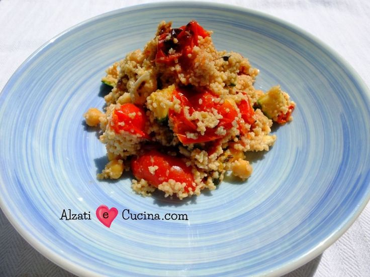 Couscous con verdure, la storia di Maddalena - Alzati e Cucina