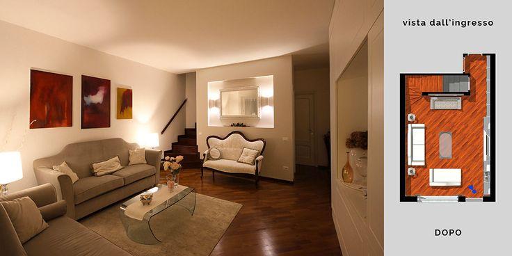 Arredamento classico moderno per il soggiorno a torino for Arredamento elegante classico
