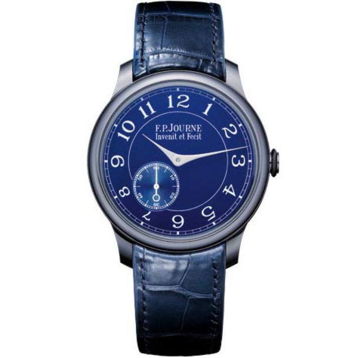 F.P.Journe Chronometre Bleu Souveraine Manual Wind. #fpjourne