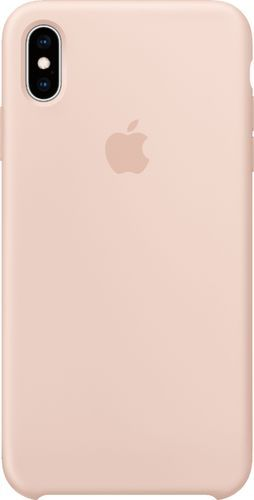 Apple – iPhone XS Max Silicone Case – Pink Sand