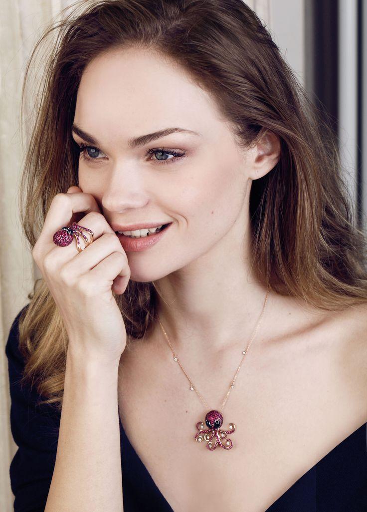 vega collection #octopusjewelry #pontevecchiogioielli #advertaisingcampaign