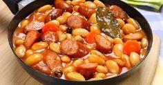 Bab füstölt virslivel és párolt zöldségekkel – Mellesleg csoda finom!