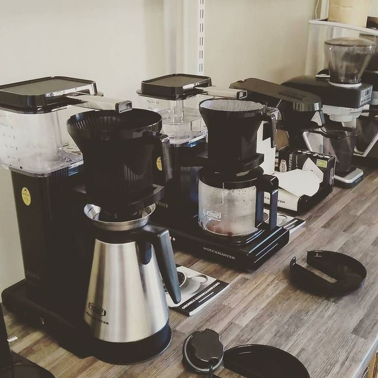 Having lots of fun trialling all the #technivorm #moccamaster #filter #coffee machines at #CCBHQ. They will be available for purchase in the next few days! #twitter