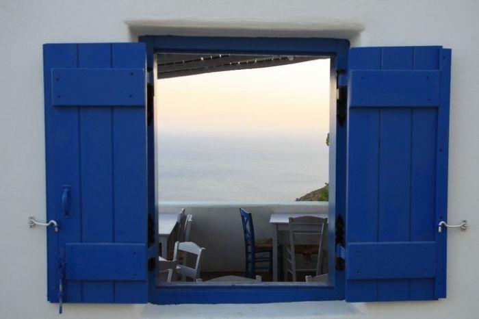 Window to paradise Anafi island - Greeka.com | Greece | Greek islands