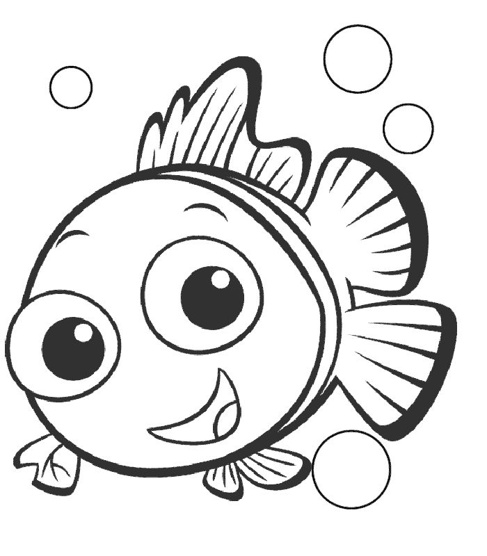Finding Nemo Printable Coloring Pages Getcoloringpages