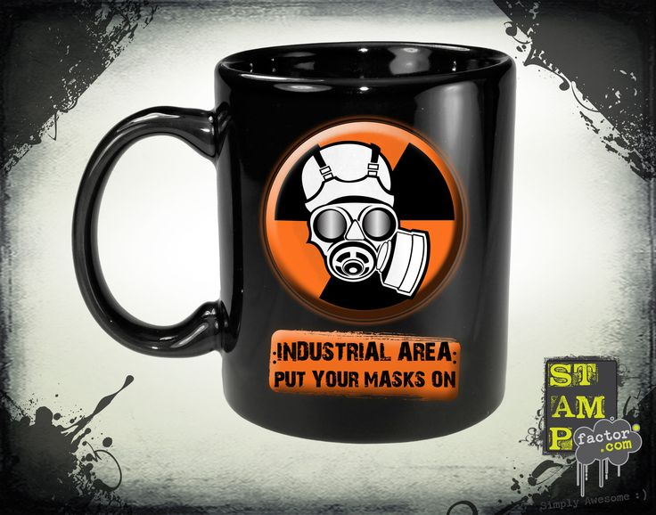 Put Your Masks On (Version 05) 2014 Collection - © stampfactor.com *MUG PREVIEW*