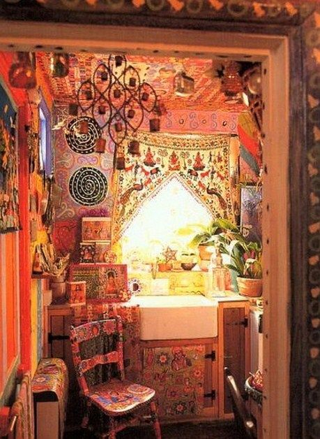 Bohemian Decor Bathroom | Gypsy Style ~ Bohemian Interiors And Eclectic  Homes