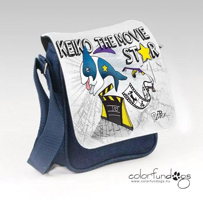 PetPen Design grafikás egyedi táska.