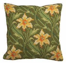 Collection D'Art Cross Stitch Cushion Kit: Myrtle (left) CD5118