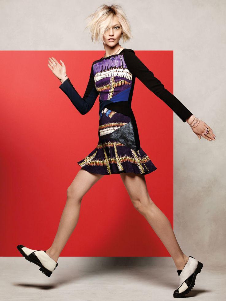 Sasha Pivovarova by Jason Kibbler for Vogue Korea December 2014 8