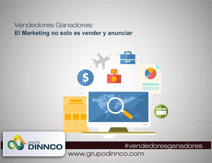 Vendedores Ganadores: El Marketing no solo es vender y anunciar #vendedoresganadores