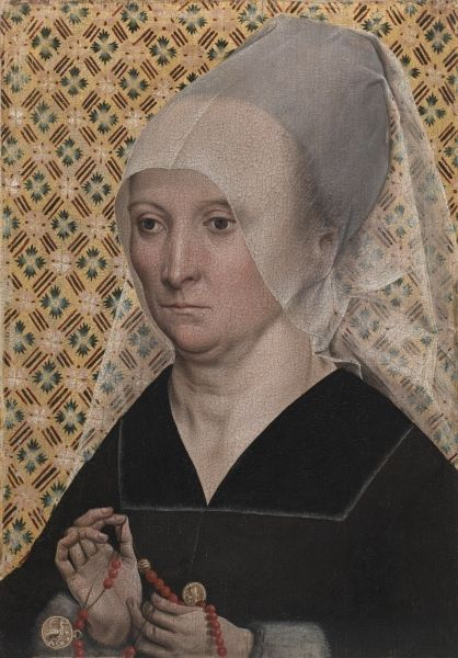 Portrait Of A Woman C 1490 1495 Master Of The Holy Kinship The Younger German Women