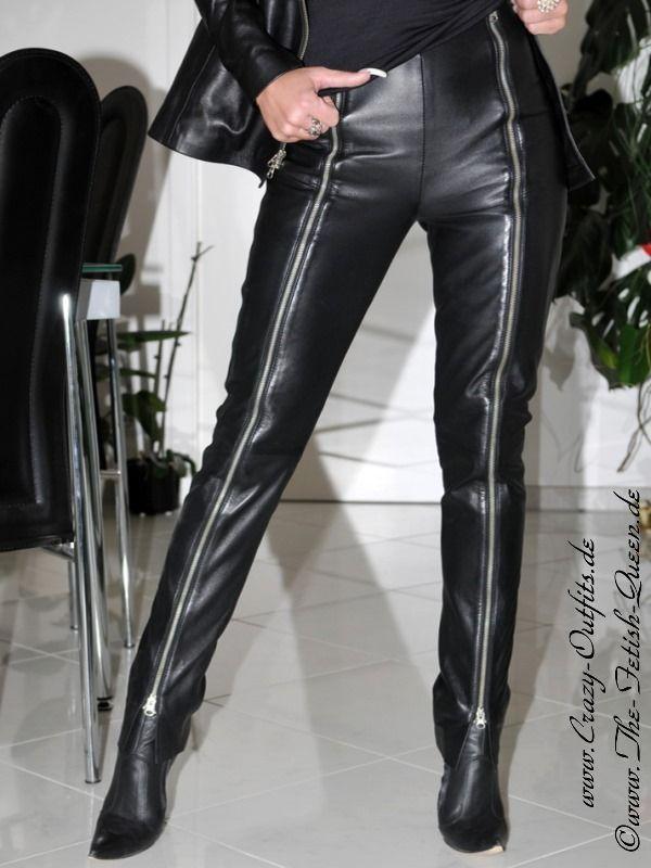 Lederhose DS-412 : Crazy-Outfits - Webshop für Lederbekleidung, Schuhe & mehr.