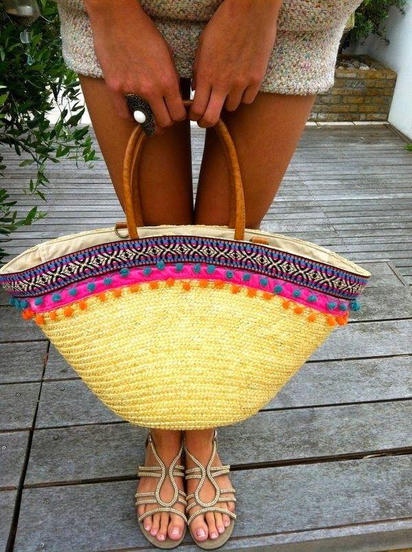 Capazos de verano + DIY!!! ~ el país de sarah