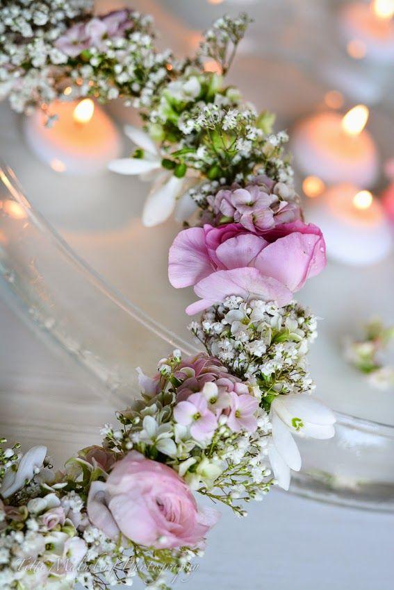HWIT BLOGG: FLOWERS by titti & ingrid - Flytande blomsterkrans