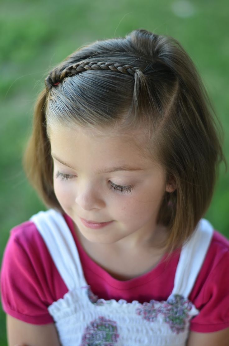 Kids hairstyles for short hair girls - Find This Pin And More On Hair For School