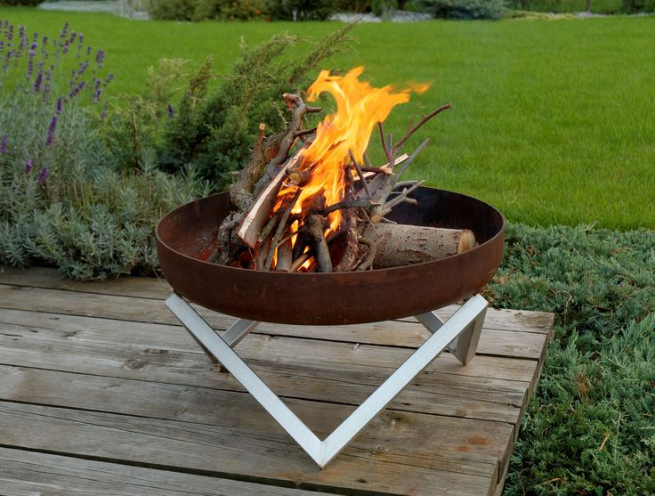 Steel Fire Pit YANARTAS #firepit #outdoordecoration #interior #design #arpestudio