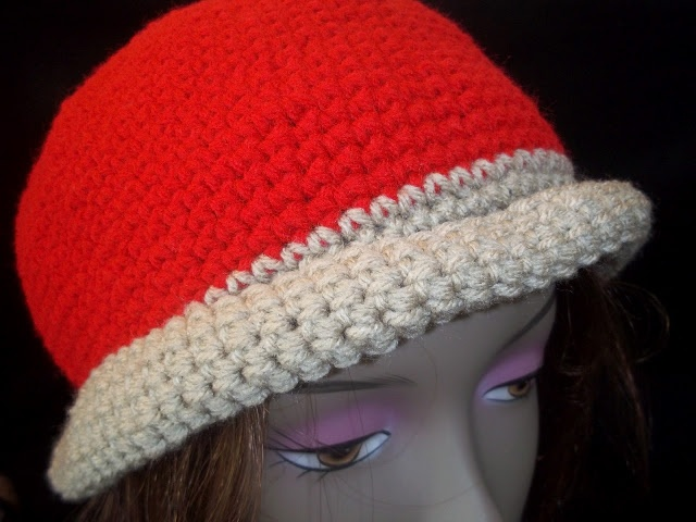 Crochet Geek - Free Instructions and Patterns: Red & Tan Crochet ...