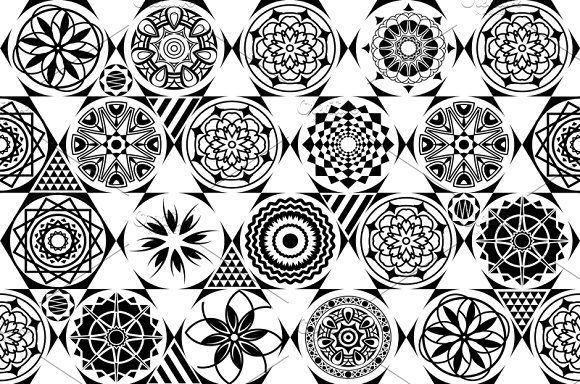 vector seamless patterns. tiling. by Rommeo79 on @creativemarket