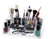 Custom acrylic cheap makeup organiser clear box makeup organizer clear makeup storage organizer CO-287