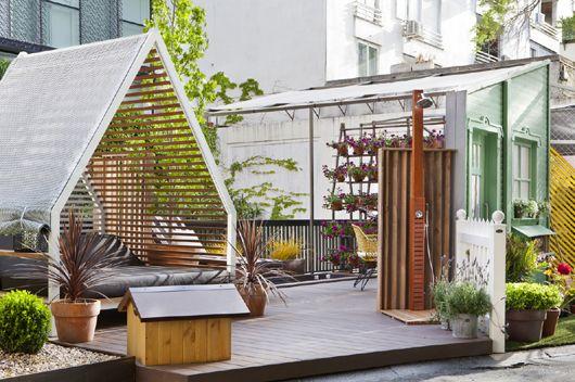 """Espacio """"El Jardinero Indiscreto"""" diseñado por Encarna Romero para El Corte Ingles en Casa Decor Madrid 2013. Con la colaboración de Kettal"""