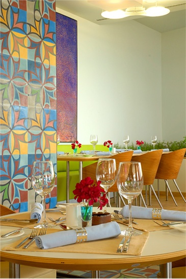 Restaurant In Beirut With Starck Chairs