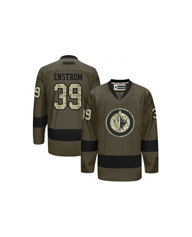 #WinnipegJets#39 #Jersey #TobiasEnstrom #Jersey #GreenCamoWinnipegJets #jersey #TobiasEnstrom #jersey Top off your look and show the other guys what team is running the show with this trendy Tobias Enstrom Reebok Green Camo Long Sleeve Jersey. This unique jersey is loaded with genuine Winnipeg Jets qualities that will make it one of your all-time favorites!