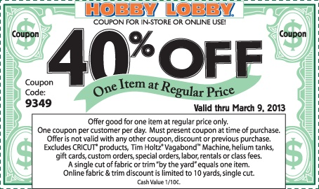 Hobby Lobby Web Ads - Hobby Lobby