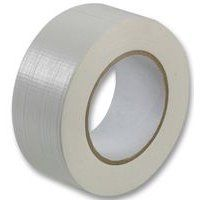 From 2.09:1 Roll Gaffer Tape White 48mm X 50m Gaffa Duct Duck Packing Cloth Book Binding