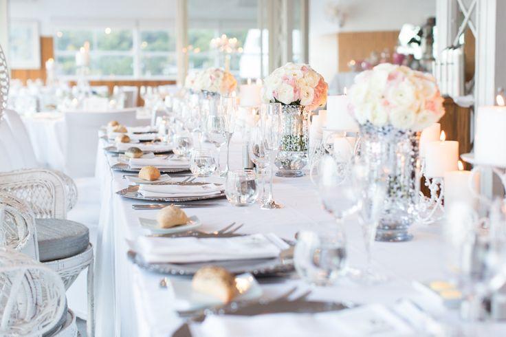 Wedding table setting inspiration. Mosman Bay restaurant Perth WA