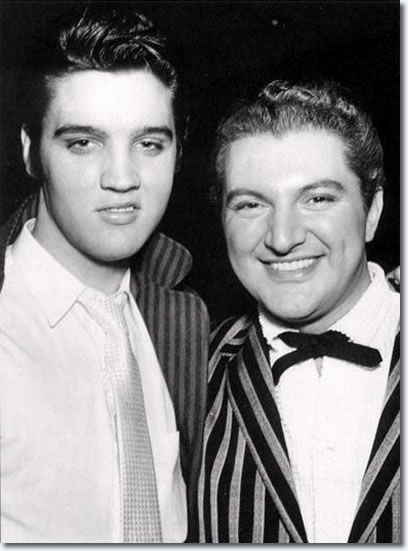 Elvis and Liberace  oh that smile on elvis!! liberace had a great smile too!!
