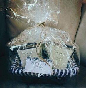 Gift baskets are available!