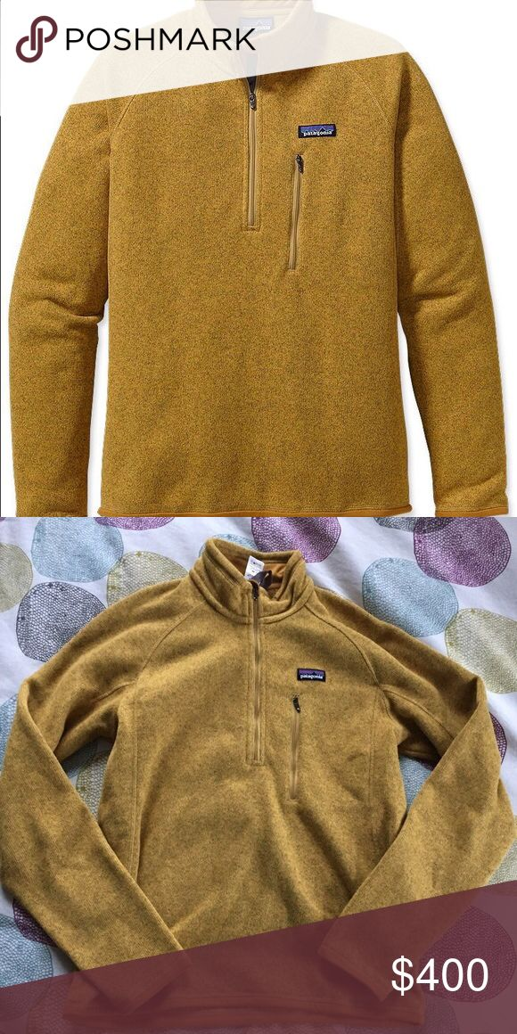 ISO!!! Mustard Patagonia Better Sweater (XS or S) Not for sale! I am in search of a mustard colored Patagonia Better Sweater (size XS or S in men's). I believe they only made this color in men's. I saw someone with one months ago and I've been looking everywhere since! Patagonia Jackets & Coats