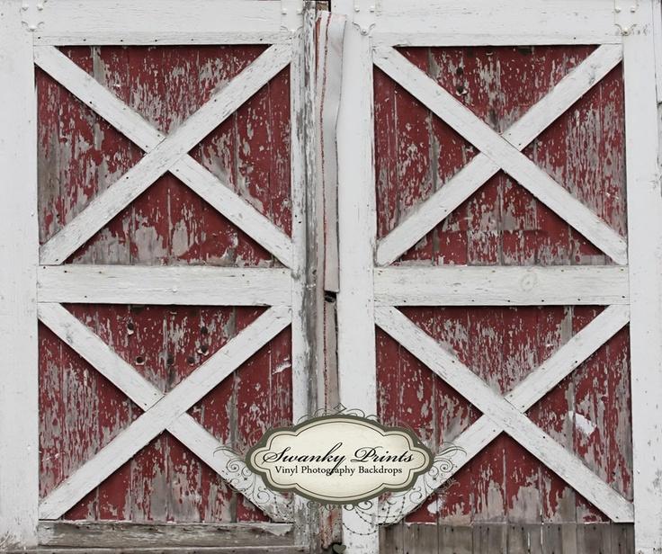 ... Old Red Barn Door