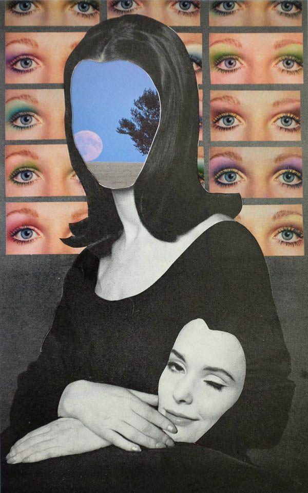 Collage rétro par Jordan Westre - eyes