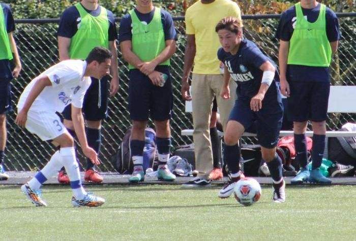 Wesley Starts The Season Off With A 3 0 Win Vs Cairn College Soccer Men S Soccer Teams College Sports